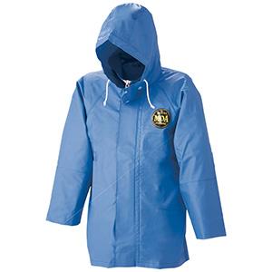 雨衣 マリンパーカ J−218 ブルー