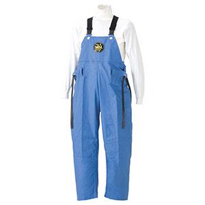 雨衣 マリン胸付ズボン G−229 ブルー