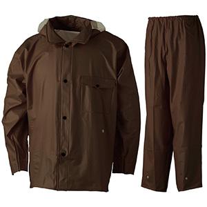 雨衣 ウェーブロック 安全コート ガンメタル
