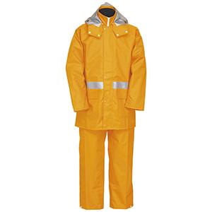 雨衣 8950 ナダレスレインスーツ オレンジ