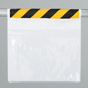 ワンタッチ取付標識 341−981 両面ポケット式