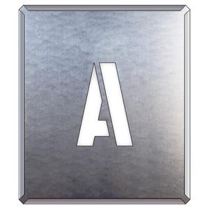349−12A 吹付け用プレート A