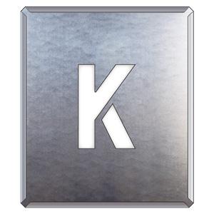 349−25A 吹付け用プレート K