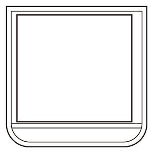 ポケット胸章白 368−12