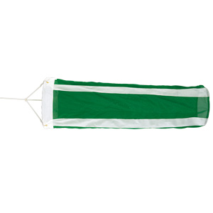 旗類 372−31A 吹流し 緑/白
