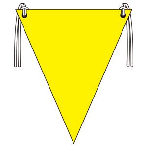三角旗 372−60 黄無地