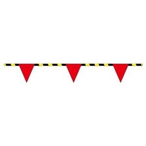 トラロープ付三角旗 372−73 (9連)