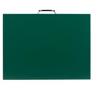 雨天用撮影用黒板 373−17 緑 無地 (横型)