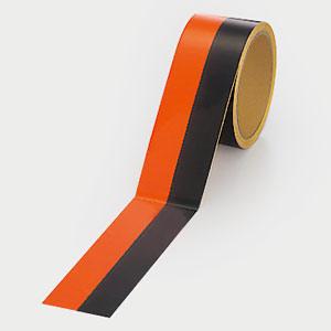 蛍光トラテープ 374−09 50幅×5m