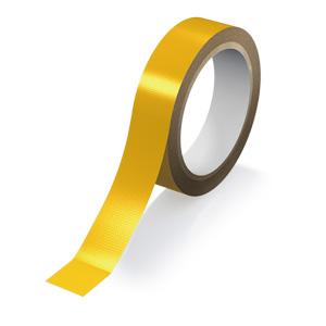 再帰反射テープ 374−106 黄