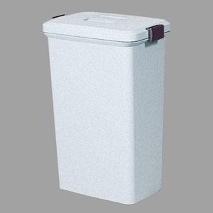 ごみ箱 (ポリ) 375−22 60リットル 色:グレー