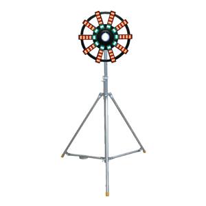 大型回転灯(三脚付)LED・キ 384−021