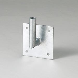 カーブミラー 384−90 取付用金具 L型壁取付金具