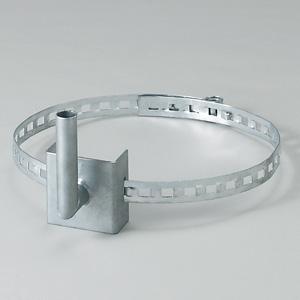 カーブミラー 384−93 取付用金具 電柱取付金具