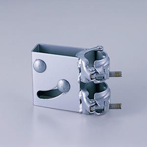 カーブミラー 384−96 取付用金具 単管取付金具