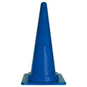 寒冷地仕様三角コーン フレックスコーン 385−103 青