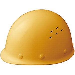通気孔付 軽量ヘルメット SC−LMV RA イエロー