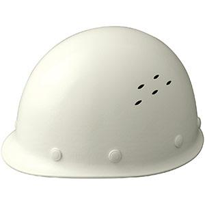 通気孔付 軽量ヘルメット SC−LMV RA ホワイト