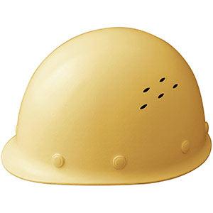 通気孔付 軽量ヘルメット SC−LMV RA クリーム