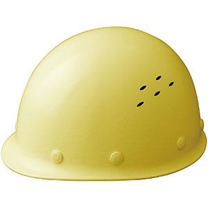 通気孔付 軽量ヘルメット SC−LMV RA レモンイエロー