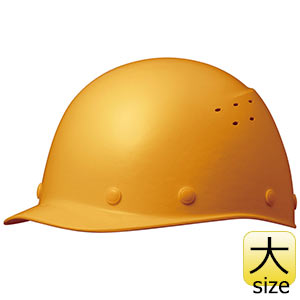 ヘルメット 特大サイズ SC−9FVXLT RA イエロー