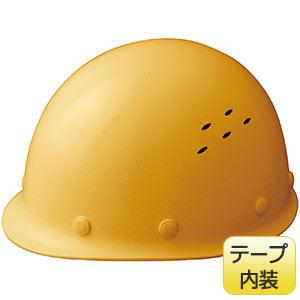通気孔付 軽量ヘルメット SC−LMVT RA イエロー
