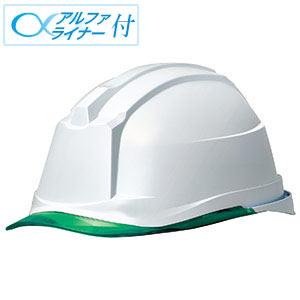 ヘルメット SC−19PCL RA3 α ホワイト/グリーン