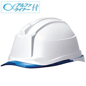 ヘルメット SC−19PCL RA3 α ホワイト/ブル−