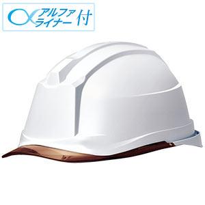 ヘルメット SC−19PCL RA3 α ホワイト/ブラウン