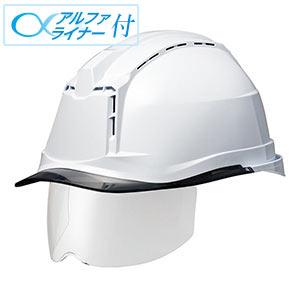 ヘルメット SC−19PCLVS RA3 α ホワイト/スモーク