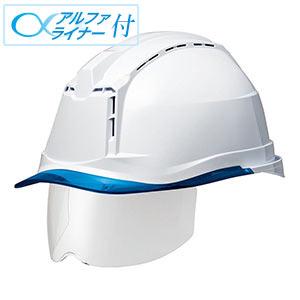 ヘルメット SC−19PCLVS RA3 α ホワイト/ブルー