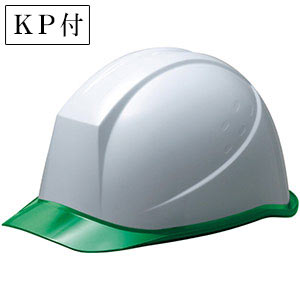 ヘルメット SC−11PCL RA KP付 ホワイト/グリーン