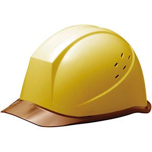 ヘルメット SC−11PCLV RA イエロー/ブラウン