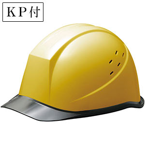 ヘルメット SC−11PCLV RA KP付 イエロー/スモーク
