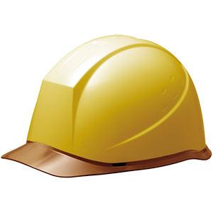ヘルメット SC−12PCL RA イエロー/ブラウン