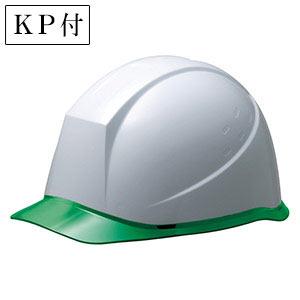 ヘルメット SC−12PCL RA KP付 ホワイト/グリーン