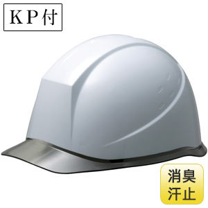 ヘルメット SC−12PCL RA NS KP ホワイト/スモーク 消臭汗止