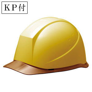 ヘルメット SC−12PCL RA KP付 イエロー/ブラウン