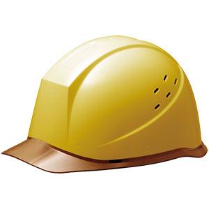 ヘルメット SC−12PCLV RA イエロー/ブラウン