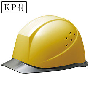 ヘルメット SC−12PCLV RA KP付 イエロー/スモーク