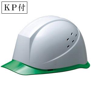 ヘルメット SC−12PCLV RA KP付 ホワイト/グリーン