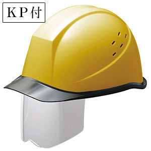 ヘルメット SC−11PCLVS RA KP付 イエロー/スモーク