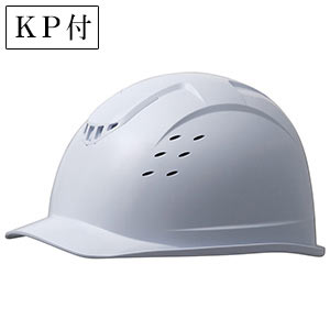 ベンチレーションヘルメット SC−13BV RA KP付 ホワイト