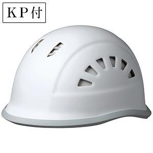 ヘルメット SC−18BV RA KP ホワイト/グレー