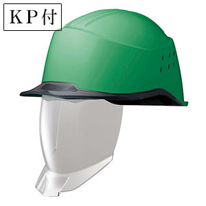ヘルメット SC−15PCLNVS RA2 KP 侍 グリーン/スモーク