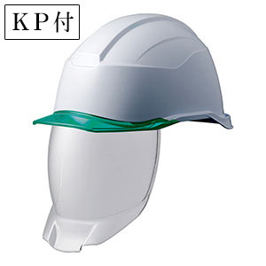 ヘルメット SC−21PCLS RA3 KP 侍II ホワイト/グリーン