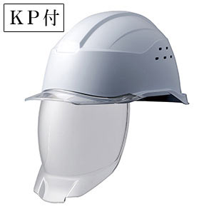 ヘルメット SC−21PCLVS RA3 KP 侍II ホワイト/クリア