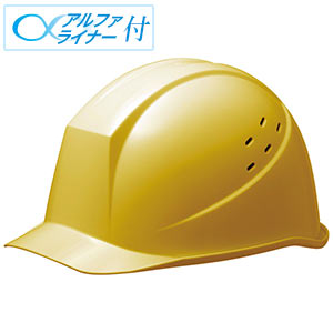 ヘルメット SC−11PV RA α イエロー
