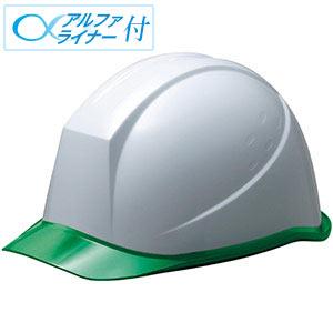 ヘルメット SC−11PCL RA α ホワイト/グリーン