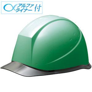 ヘルメット SC−12PCL RA α グリーン/スモーク